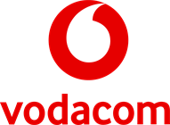 Secondary _Logo _White _Speechmark _on _Red _FA_RGB - FINAL LOGO VODACOM